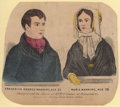 Frederick George Manning and Marie Manning