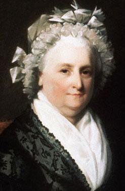 Portrait of First Lady Martha Washington