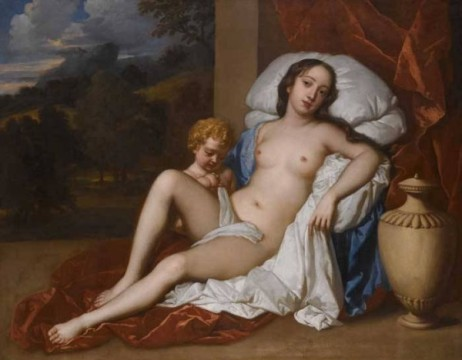 Nell Gwynn as venus