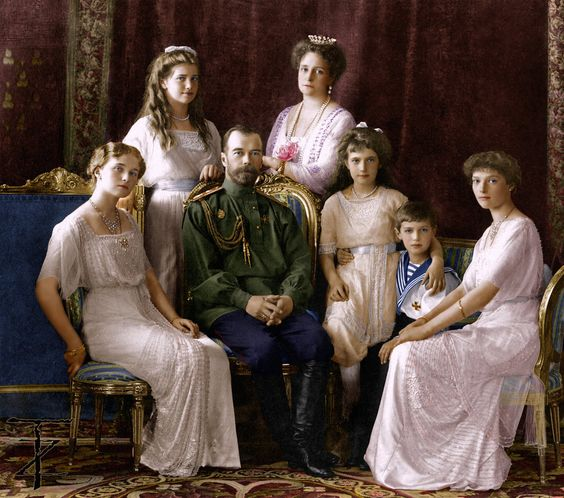 Romanov Family, Russias last royal family. All were murdered in 1918