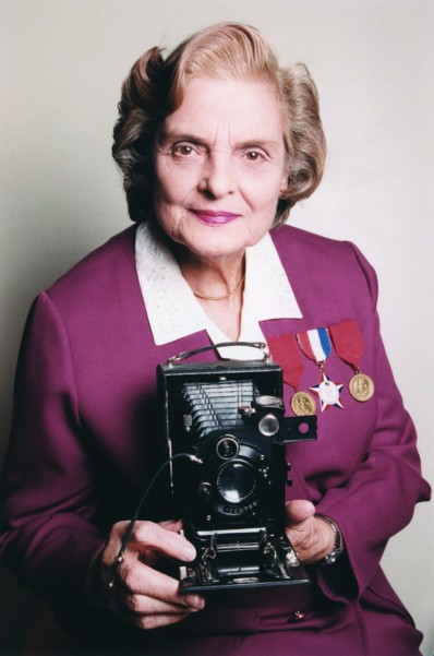 Faye Schulman with her camera.jpg