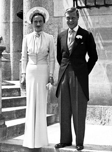 Wallis Simpson Wedding Dress