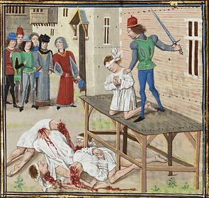 execution of Oliver De Clisson and other nobles