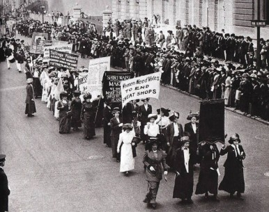 A 1911 Suffrage March