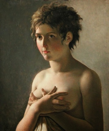 Pierre-Narcisse Guerin- Portrait of a Young Girl (1812).jpg