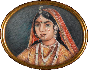 Rani_of_Jhansi,_watercolour_on_ivory,_c._1857