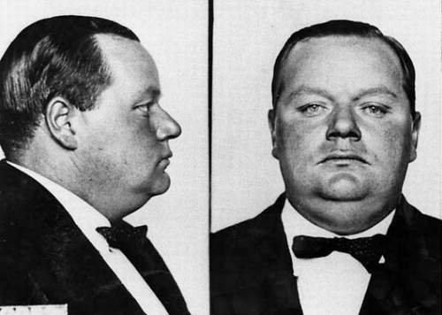 Fatty Arbuckle Mug Shot