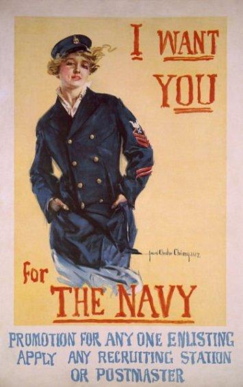 Navy Propaganda poster