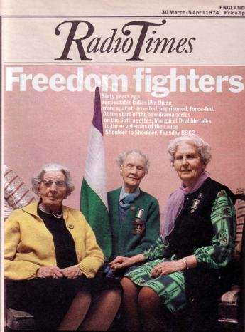 Leonora Cohen, front page of the radio times