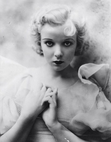 Ida Lupino as a young actress