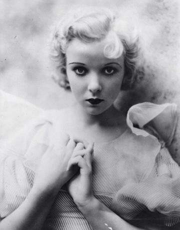 Ida Lupino as a young actress