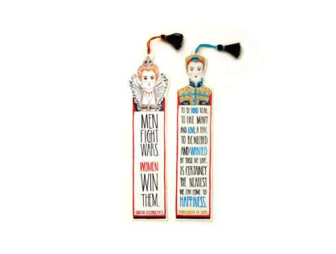 Mary and Elizabeth bookmark