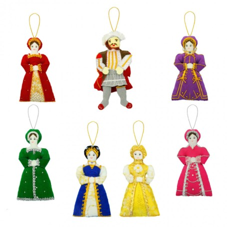 six wives christmas decorations .jpg