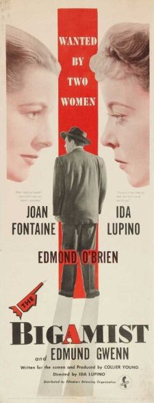 The Bigamist, 1953 film poster