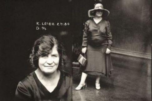 Kate Leigh, Mug Shot