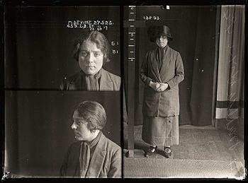 Tilly Devine, Mug Shot