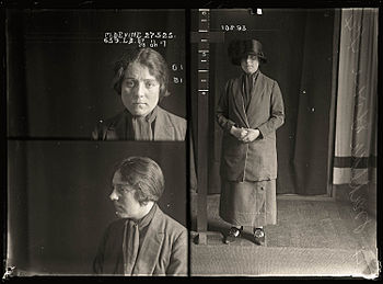 Tilly Devine, Mug Shot