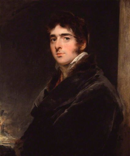 William Lamb by Sir Thomas Lamb, 1805