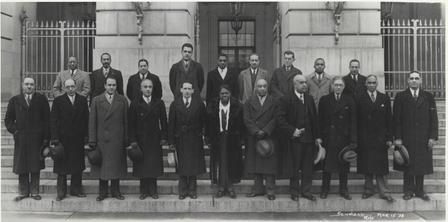 Mary Mcleod Bethune and members of the 'black cabinet' in the 1930s