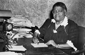 Mary Mcleod Bethune at work