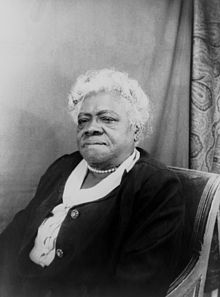 Mary Mcleod Bethune in the late 1940s
