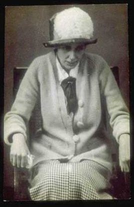 Olive Wharry, Suffragette, after 32 days on hunger strike