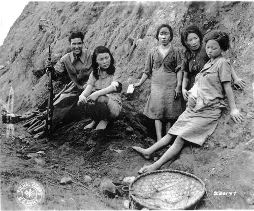 Comfort Women during WW2