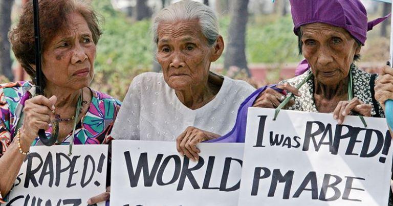 Comfort Women protest