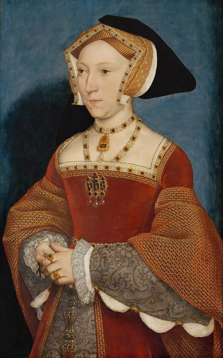 Jane Seymour, as painted by Hans Holbein.jpg