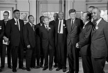 JFK, MLK and March on Washington campaigners
