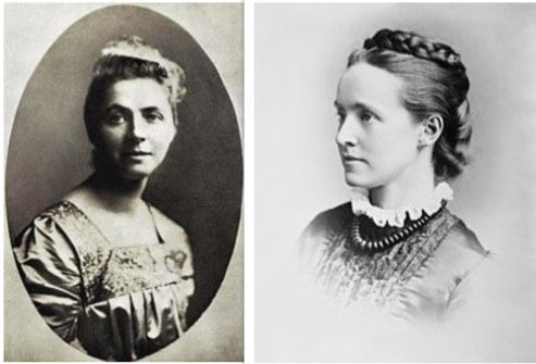 Emily Hobhouse and Millicent Fawcett