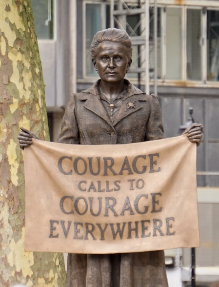 Statue of Millicent Garrett Fawcett