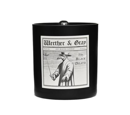 black death candle