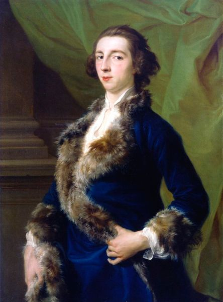 Joseph Leeson 2nd Earl of Milltown by Pompeo Batoni in 1751