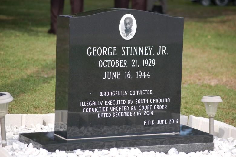 George Stinney's grave