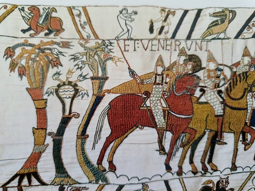 The Bayeux Tapestry penis example