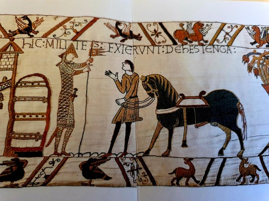 The Bayeux Tapestry, penis example, William the Conquerer