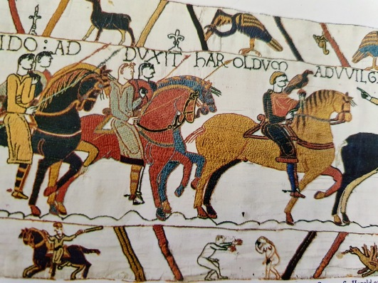The Bayeux Tapestry penis 2